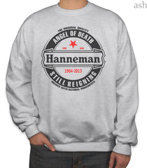 Hanneman Angel of Death Slayer Jeff Hanneman Unisex Crewneck Sweatshirt