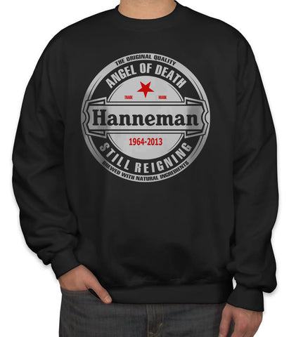 Hanneman Angel of Death Slayer Jeff Hanneman Unisex Crewneck Sweatshirt Adult