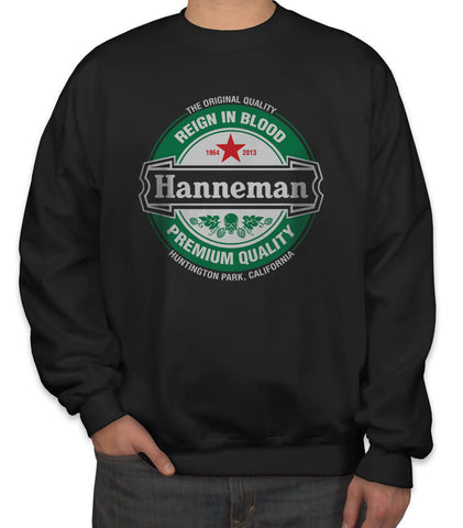 Hanneman Reign in Blood Slayer Jeff Hanneman Unisex Crewneck Sweatshirt Adult