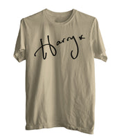 Harry Styles Signature Men T-shirt tee PA
