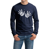 Hello Good Bye The Séance Umbrella Academy Men Long Sleeve T-shirt / Tee