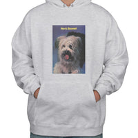 Here's Boomer Unisex Pullover Hoodie Adult