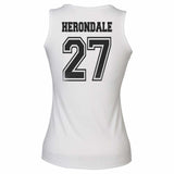 Herondale 27 Idris University Women Tank Top White - Meh. Geek - 3