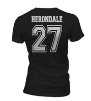 Herondale 27 On BACK Idris University Women T-shirt