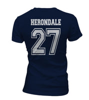 Herondale 27 Idris University Women T-shirt Navy