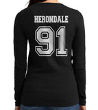 Herondale 91 Idris University Long sleeve T-shirt for Women Black - Meh. Geek - 3