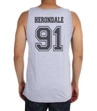 Herondale 91 Idris University Men Tank Top Heather Grey