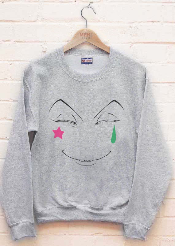 Hisoka Face Hunter x Hunter Unisex Crewneck Sweatshirt Adult