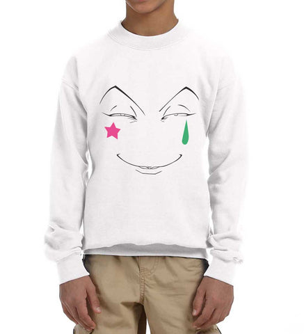 Hisoka Face Hunter x Hunter Kid / Youth Crewneck Sweatshirt