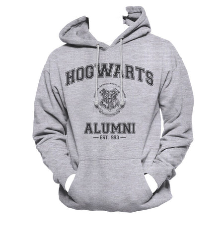 Hogwarts Alumni #3 Black ink Unisex Pullover Hoodie / Hooded Sweatshirt HA3