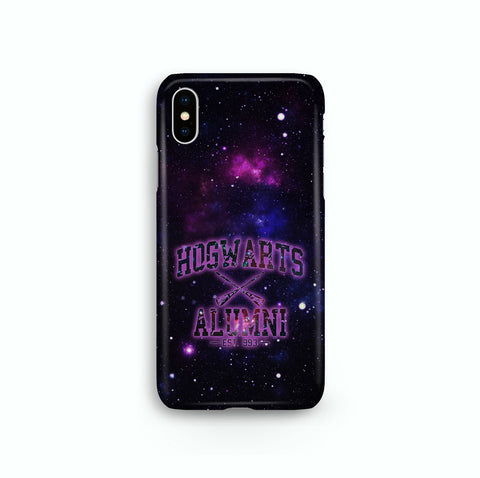 Hogwarts Alumni Nebula iPhone, Samsung Galaxy, Google Pixel, LG Snap or Tough Phone Case
