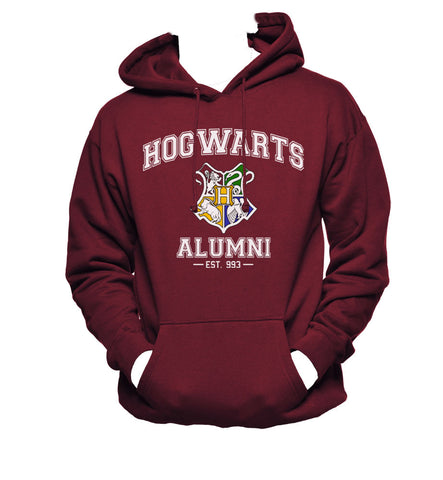 Hogwarts Alumni New Color Unisex Pullover Hoodie / Hooded Sweatshirt HA New