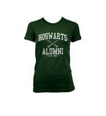 Hogwarts Alumni White ink Women T-shirt Tee HA1