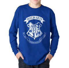 Hogwarts Crest #2 Kid / Youth Long Sleeves T-shirt tee PA Crest