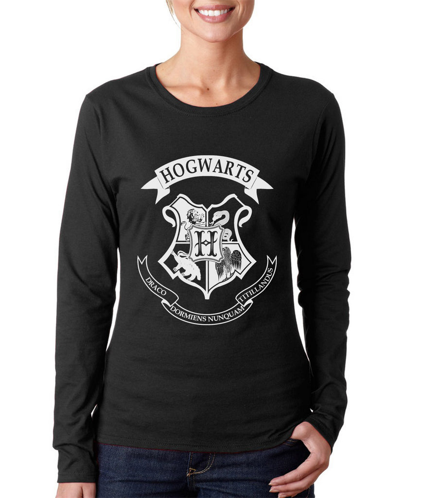 Hogwarts Crest Long sleeve T-shirt for Women PA Crest