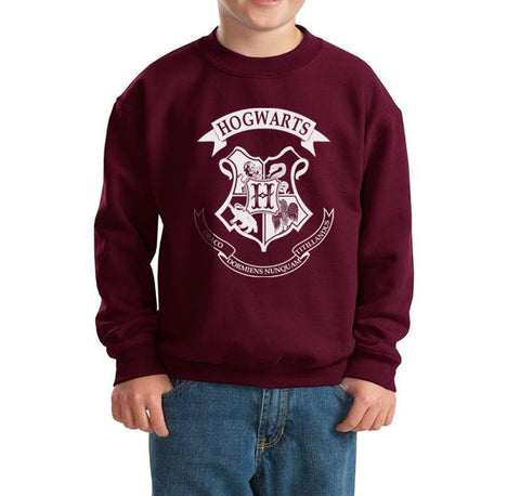 Hogwarts Crest Kid / Youth Crewneck Sweatshirt PA Crest