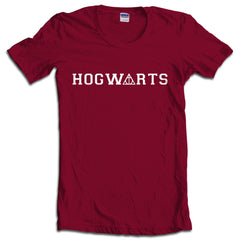 Hogwarts Deathly Hallows Harry Potter Women T-shirt