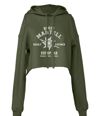House Martell Game Of Thrones Cropped Hoodie