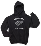 House of Stark Winter is Coming Game of Thrones Unisex Pullover Hoodie - Meh. Geek - 1