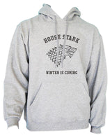 House of Stark Winter is Coming Game of Thrones Unisex Pullover Hoodie - Meh. Geek - 4