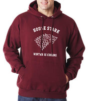 House of Stark Winter is Coming Game of Thrones Unisex Pullover Hoodie - Meh. Geek - 2