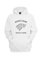 House of Stark Winter is Coming Game of Thrones Unisex Pullover Hoodie - Meh. Geek - 5