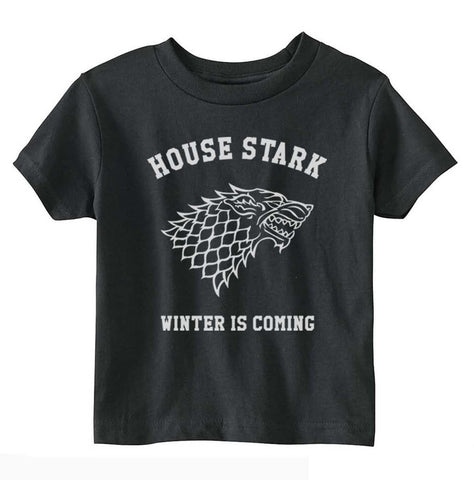 House Stark Winter is Coming Toddler T-shirt tee