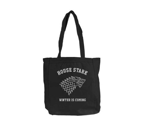 House Stark Winter is coming Game of thrones Tote bag BE008 12 OZ