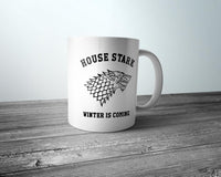 House Stark Winter Is Coming Coffee Mug 11oz