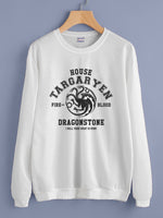 House Targaryen New Bw Unisex Crewneck Sweatshirt Adult