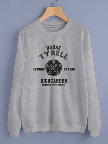 House Tyrell New Bw Unisex Crewneck Sweatshirt Adult