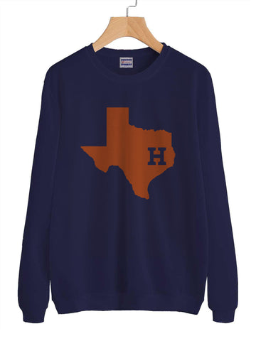 Houston Astros Unisex Crewneck Sweatshirt Adult