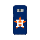 Houston Astros Star Blue Samsung Galaxy Snap or Tough Case
