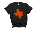 Houston Astros Women T-shirt Tee