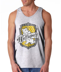 Hufflepuff Crest #2 Color Men Tank Top PA Crest