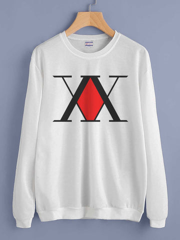 Hunter x Hunter Logo Unisex Crewneck Sweatshirt (Adult)