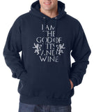 I am the God of Tits and Wine Tyrion Lannister quotes Game of Thrones Unisex Pullover Hoodie - Meh. Geek - 4