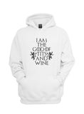 I am the God of Tits and Wine Tyrion Lannister quotes Game of Thrones Unisex Pullover Hoodie - Meh. Geek - 5