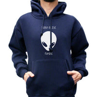 Your Planet Is Next Alien Head Unisex Pullover Hoodie - Meh. Geek - 1