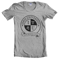 Idris University ROUND Women T-shirt - Meh. Geek - 2