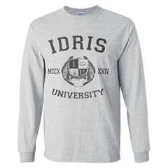 Idris University Long Sleeve T-shirt for Men - Meh. Geek - 5