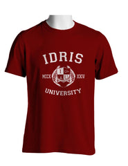 Carstairs 22 Idris University Men T-shirt Maroon - Meh. Geek - 2
