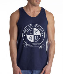 Idris University ROUND Men Tank Top