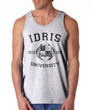 Lightwood 13 Idris University Men Tank Top Heather Grey