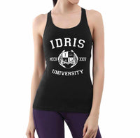 Lightwood 89 Idris University Women Tank Top Black