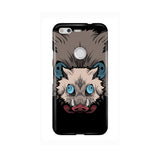 Inosuke Hashibira Kimetsu No Yaiba Boar Head LG and Google Pixel Snap or Tough Phone Case