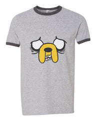 Jack Adventure Time | Ringer Unisex T-shirt / tee