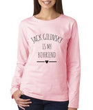 Jack Gilinsky Is My Boyfriend LOVE Long sleeve T-shirt for Women - Meh. Geek - 1