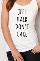 Jeep Hair Don`t Care Women Tank Top