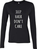 Jeep Hair Don`t Care Long sleeve T-shirt for Women - Meh. Geek - 2